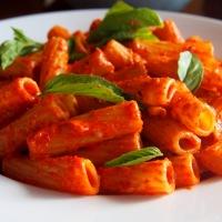 Maccheroni Rigati with Sweet Pepper Sauce