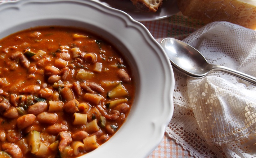 The Classic Pasta and Fagioli
