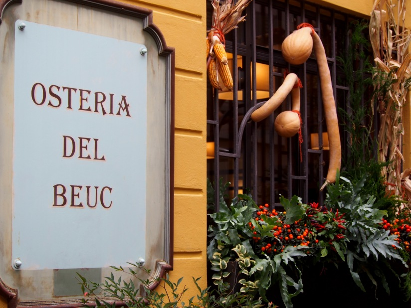 Secret Osteria, Lake Como and a Special Risotto