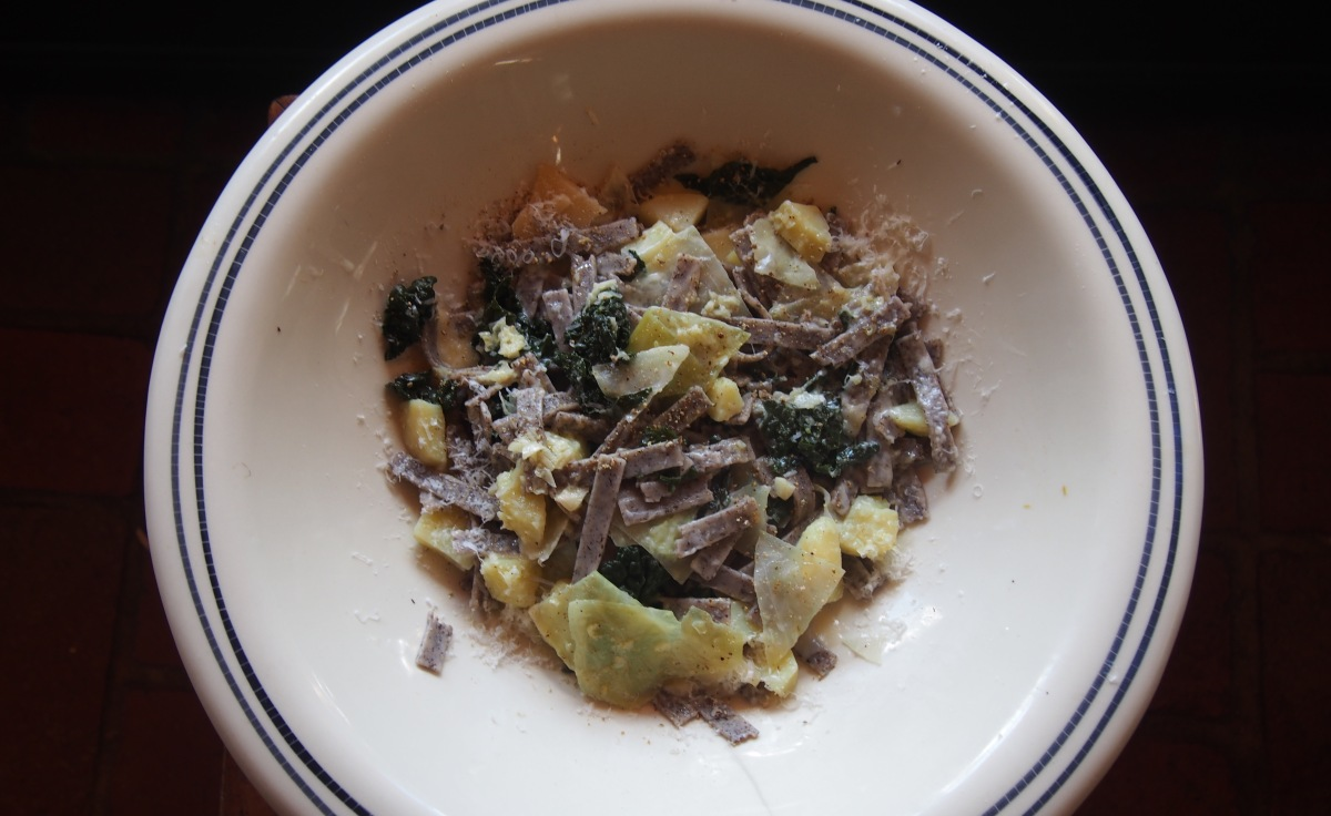 Pasta of the week: Pizzoccheri della Valtellina