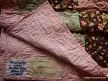 Quilt no 58, The Fabric Palette, Gladstone Qld and Friends, sponsored by Irene Dudley