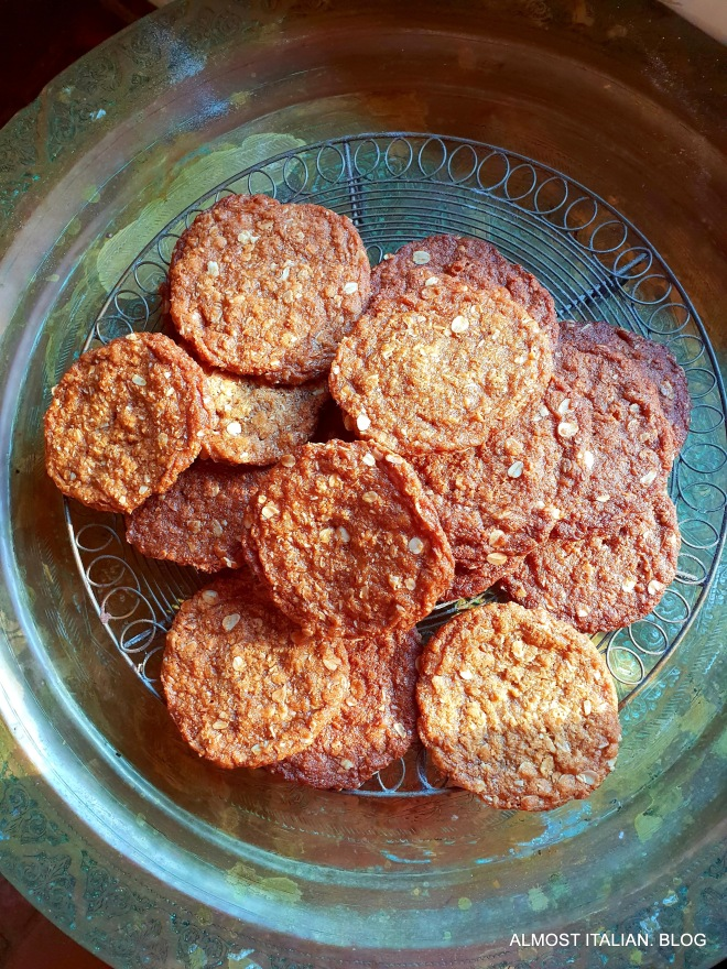 I like my Anzacs flat and crispy.