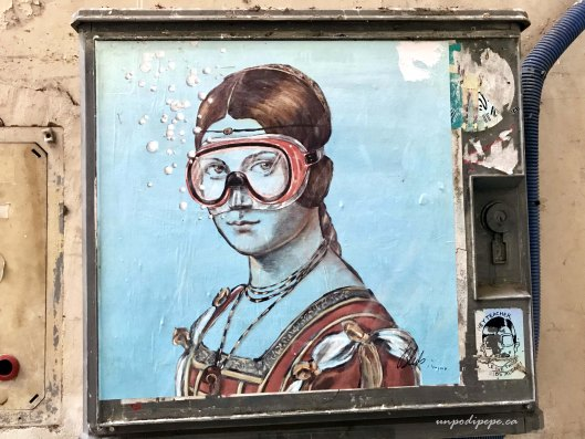 Blub street art Firenze