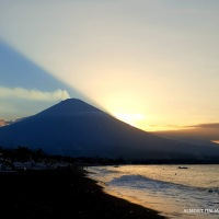 Amed and Agung, Bali