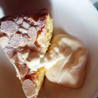 Orange, Ricotta and Almond cake.