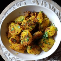 Friday Night Indian Potatoes