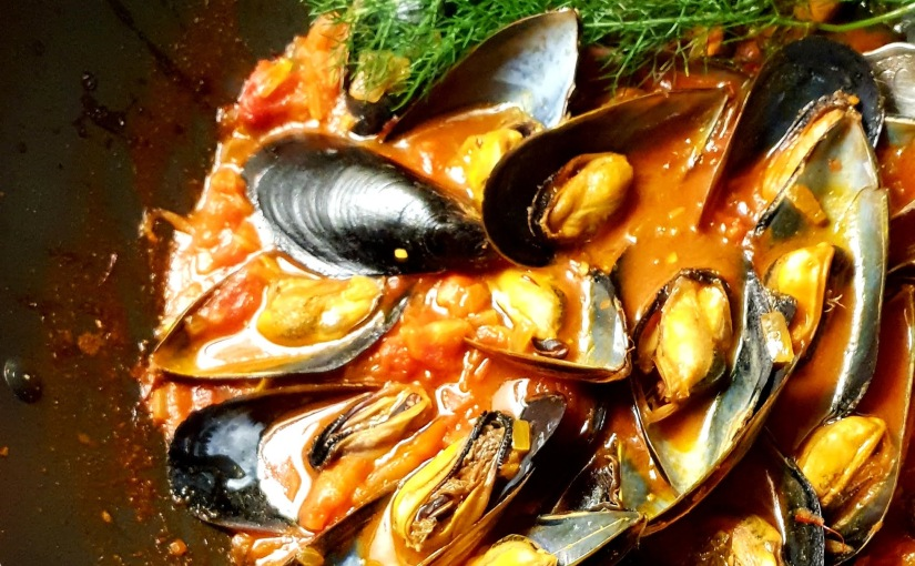 Mussels Galician style