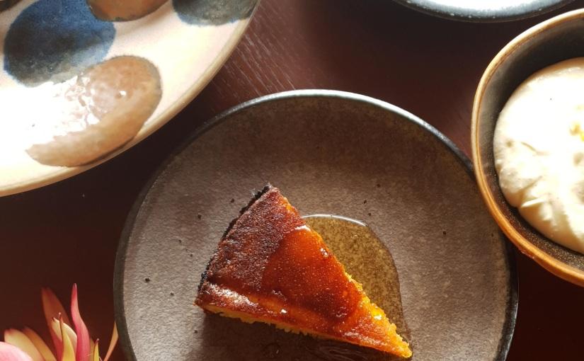 Mandarin Almond Cake, and my winter ofcitrus.